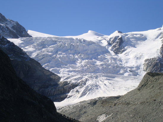 Val d'Anniviers: Moiry glacier