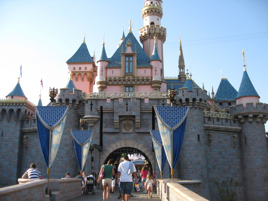 Anaheim, Kaliforniya: Sleeping Beauty Castle at Disneyland Park