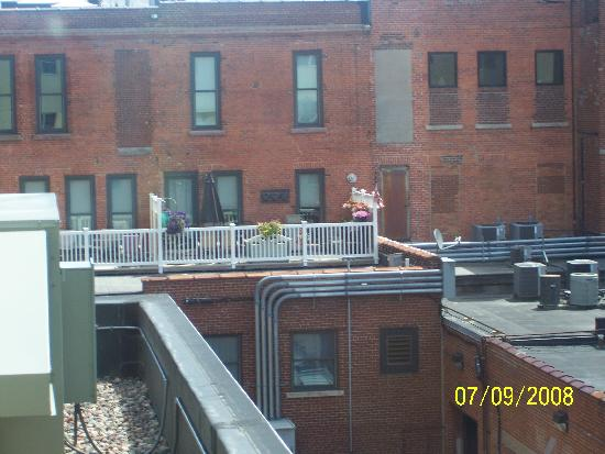 Jefferson Street Inn: View from Room 320