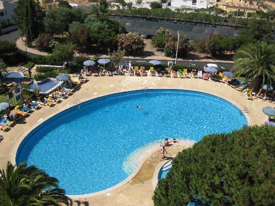 Pool aerial view foto di vila gale atlantico albufeira tripadvisor - Rectangle pool aerial view ...