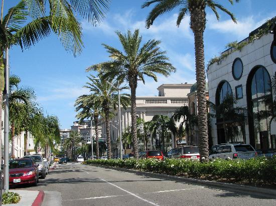 Rodeo Drive: A view down the street