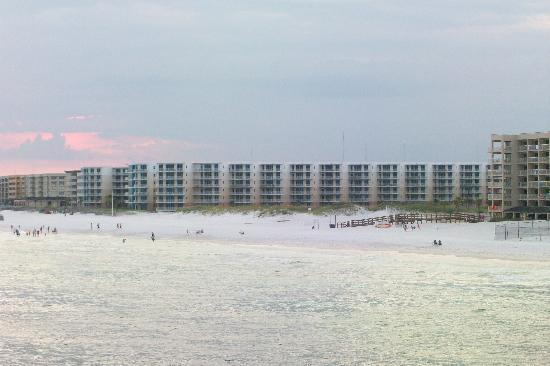 Waterscape Condominiums: Condo from pier