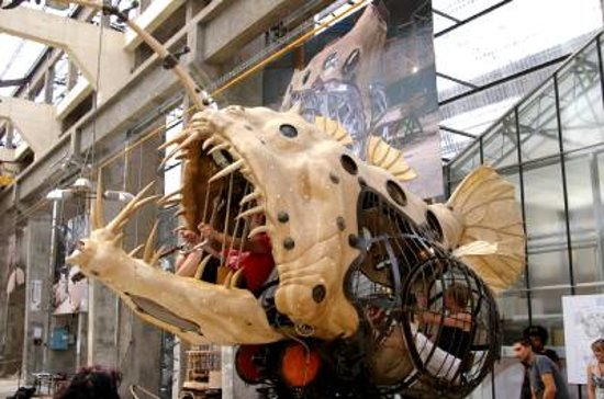 Nantes, France : The lantern fish, for exploring the abyss