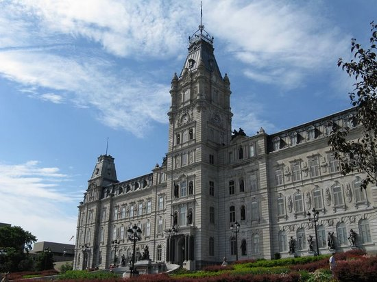 Quebec by, Canada: Hotel du Parlement