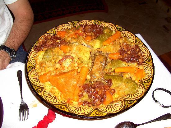Riad Nabila: couscous