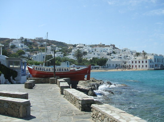 Ionian Islands, Hellas: Mykinos Harbour