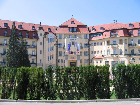 Piestany, Slowakije: Thermia Palace, spa island
