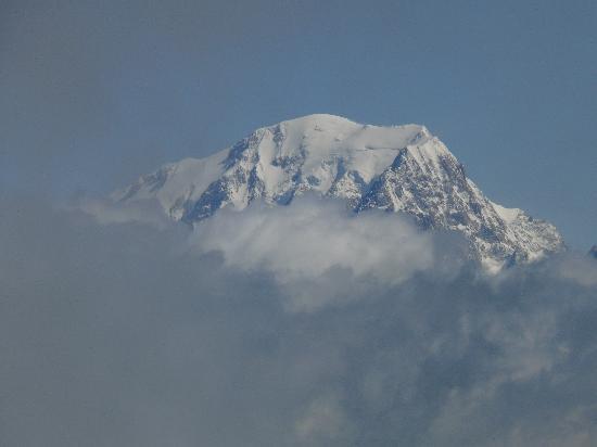 Hotel Des Deux Domaines: Mont Blanc