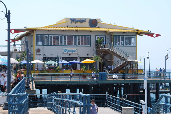 Mariasol Cocina Mexicana: View from the pier