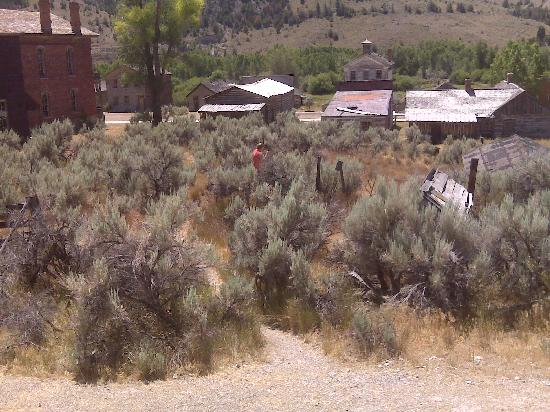 Bannack State Park: From the hill