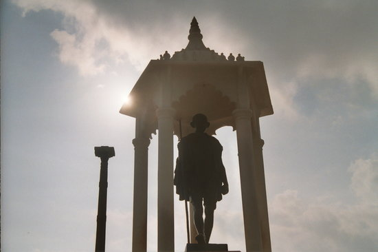 Pondicherry, Indien: Gandhi