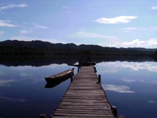 EcoAldea Maya: View from the dock