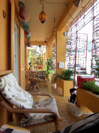 Casa de Amistad: Balcony