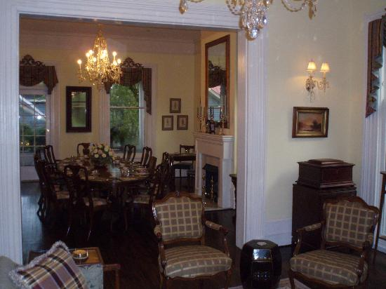 The Verandas: Parlor and Dining Room
