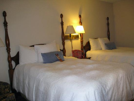 Hampton Inn and Suites Raleigh/Cary-I-40 (PNC Arena) : 2 queen beds - comfortable and clean