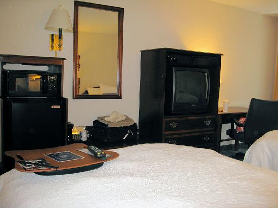 Hampton Inn and Suites Raleigh/Cary-I-40 (PNC Arena): microwave fridge