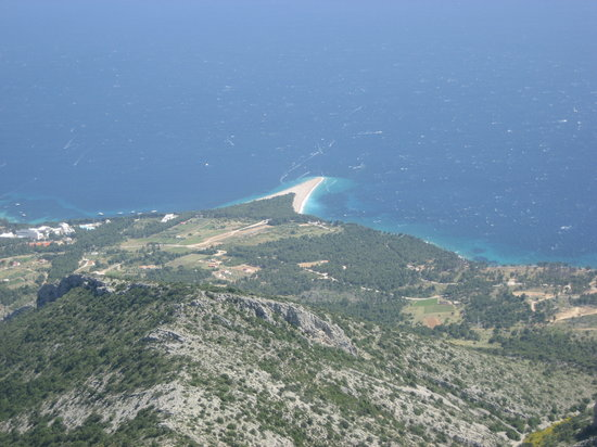 Bol, Croatia: Zlatni Rat from Vinovo Gorda
