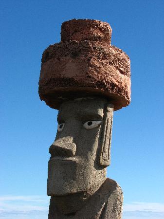 Camping Mihinoa moai
