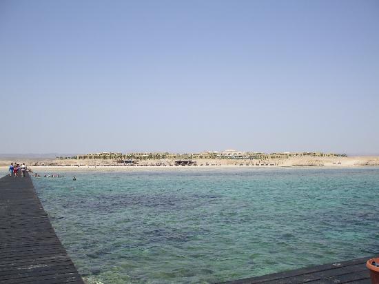 Three Corners Fayrouz Plaza Beach Resort : Three Corners visto dal pontile