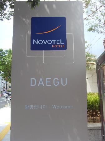 Novotel Ambassador Daegu: Hello daegu