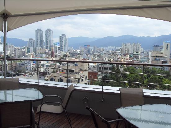Novotel Ambassador Daegu: from terrace