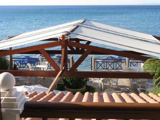 Potokaki, Greece: Terrazza colazione