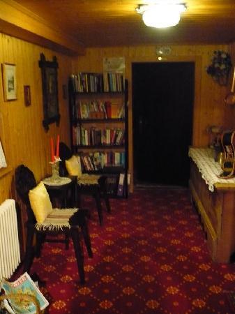 Hotel Croix d'Or et Poste: Lounge