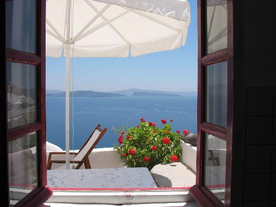 Chelidonia Villas: View from kitchen