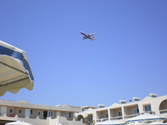 Emerald Hotel: On the flight path