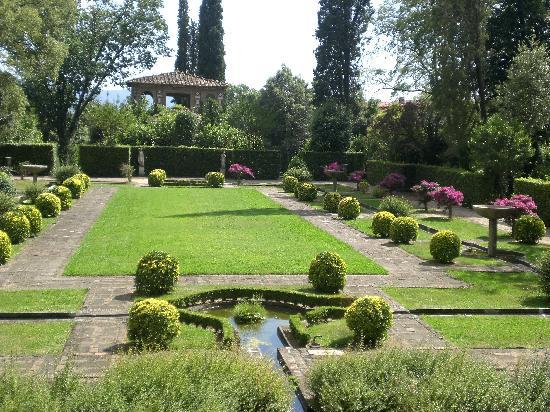 Giardino Spagnolo on the estate Villa Reale in Marlia, Lucca