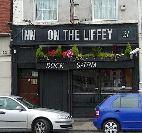 Inn on the Liffey: View from street