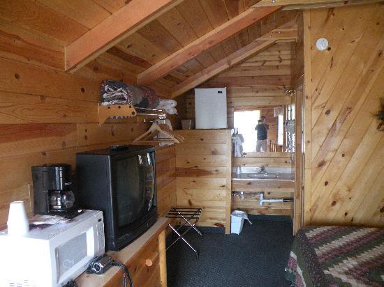 Bryce Canyon Inn: interno cabin