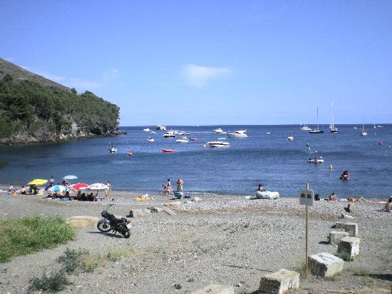 Cala Montjoi Ciudad de Vacaciones: playa