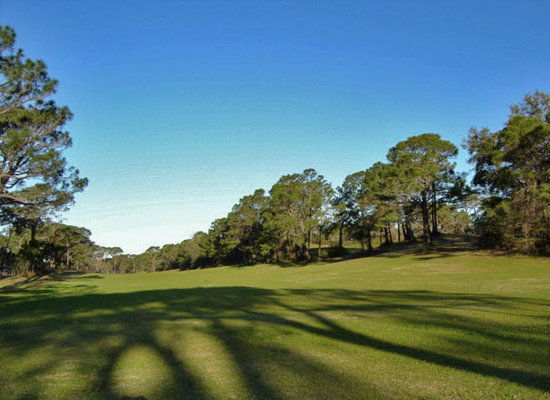 Dauphin Island, AL: Long Fairways.