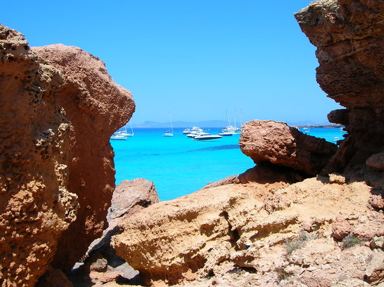 Formentera, España: Cala Saona