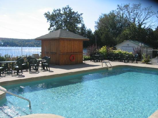 Lac Etchemin, Canada: vue de notre chambre