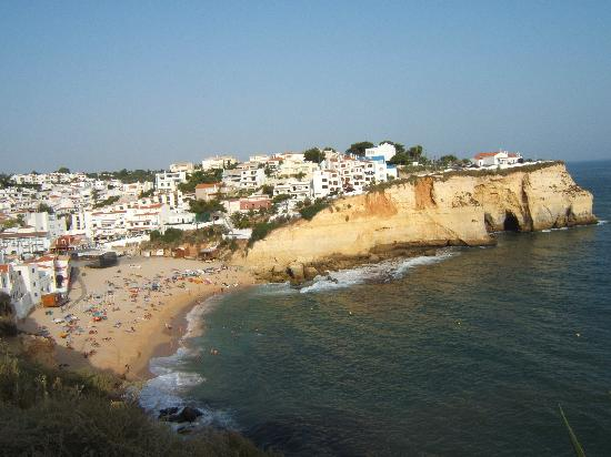 ‪‪Carvoeiro‬, البرتغال: Carvoerio from clifftop‬