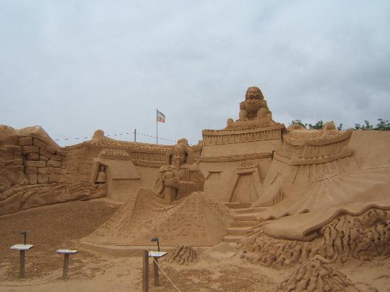 Carvoeiro, Portugal: Fiesa 2007 Sand Scuptures