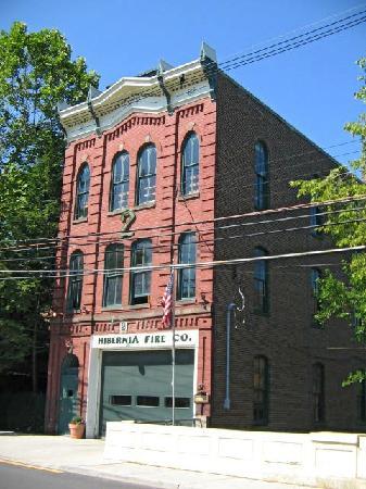 Hibernia Fire Station House in Lambertville, NJ