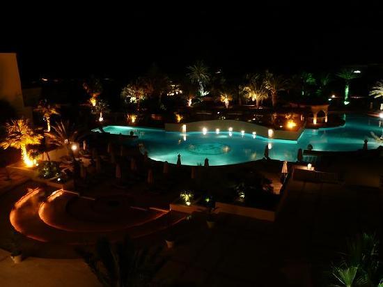 The Residence Tunis: Vue de la chambre de nuit