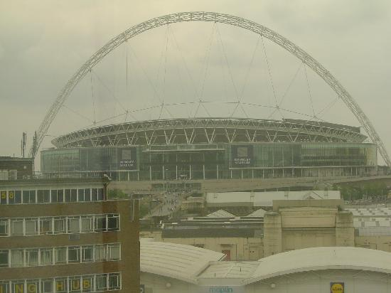 Premier Inn London Wembley Park Hotel: View of Wembley from Hotel