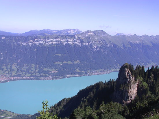 İsviçre: Lake Brienze