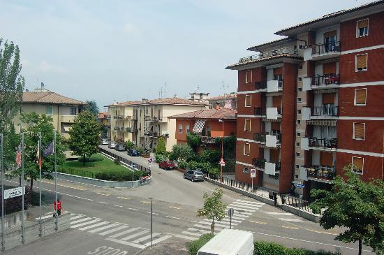 Hotel Krystal: View from hotel window