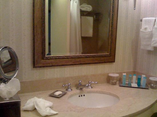 Hilton Columbus at Easton: Bathroom