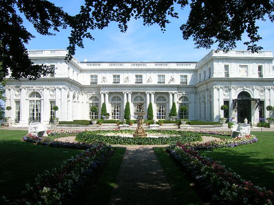 Newport Mansions: Rosecliff- Front Exterior