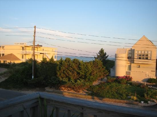 The Ocean Resort Inn: view from balcony