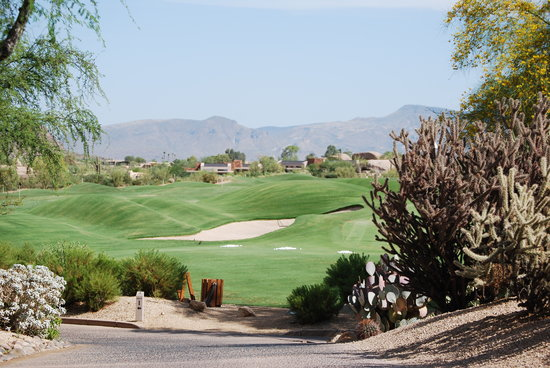Boulders Resort & Spa, Curio Collection by Hilton: A typical shot from The Boulders golf course...stunning!