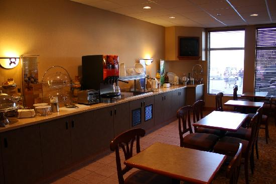 Hampton Inn Butte: Breakfast Room