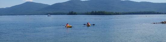 Golden Sands Resort on Lake George Resmi
