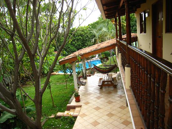 Managua Hills Bed and Breakfast: From Balcony